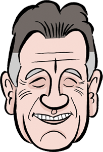 Michael Palin caricature