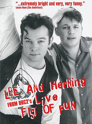 Stewart Lee and Richard Herring in Fist of Fun
