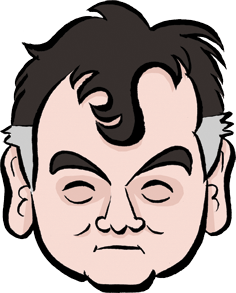 Stewart Lee caricature
